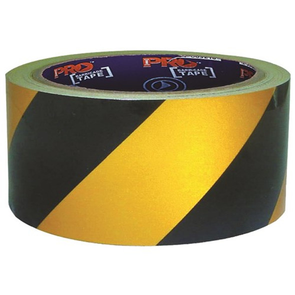 ProChoice® Self Adhesive Hazard Tape Yellow & Black 30m x 50mm YB3050-SA