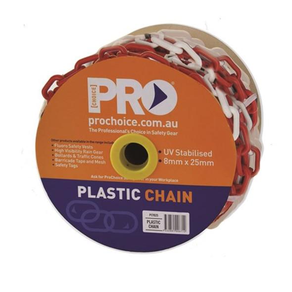 ProChoice® 8mm Red/White chain PCRW825