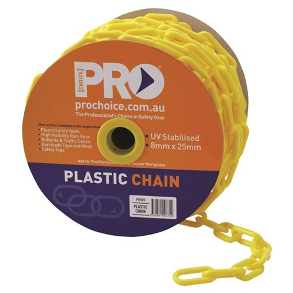 ProChoice® 8mm Yellow chain PCY825
