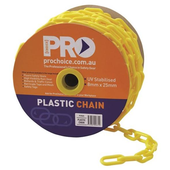 ProChoice® 8mm Yellow chain PCY825