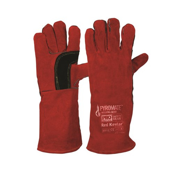 ProChoice® Pyromate® Red Kevlar® Glove Large BRW16E 6pk