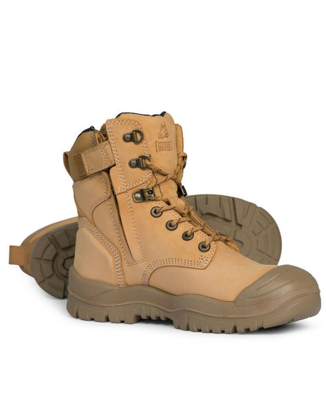 Mongrel R Series  561050 Wheat High Ankle ZipSider Boot