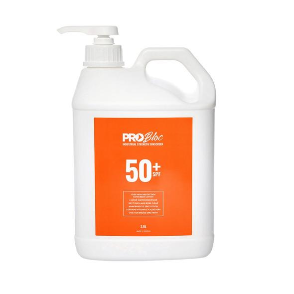 ProChoice® Probloc 50+ Sunscreen 2.5 Litre SS25-50