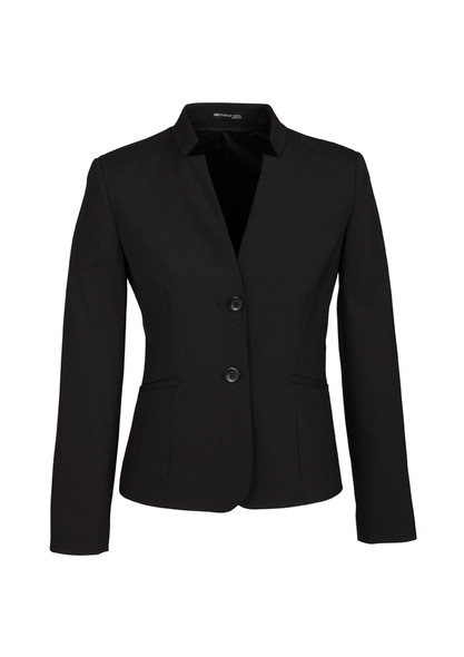 Womens Short Jacket with Reverse Lapel 64013
