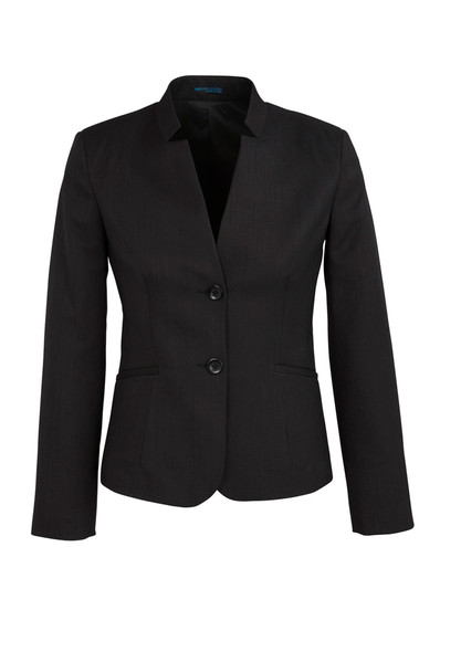 Womens Short Jacket with Reverse Lapel 60113