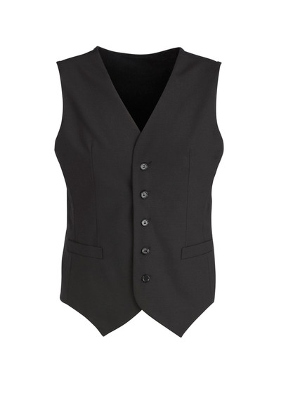 Mens Peaked Vest with Knitted Back 94011