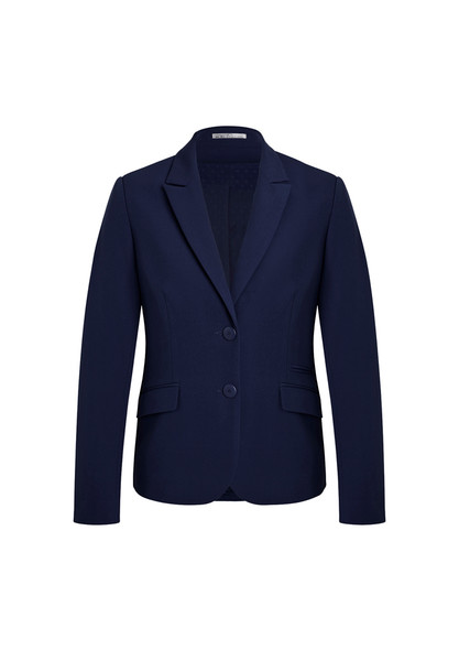 Womens Two Button Mid Length Jacket 60719