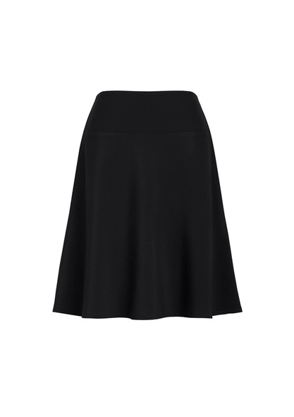 Womens Bandless Flared Skirt 20718