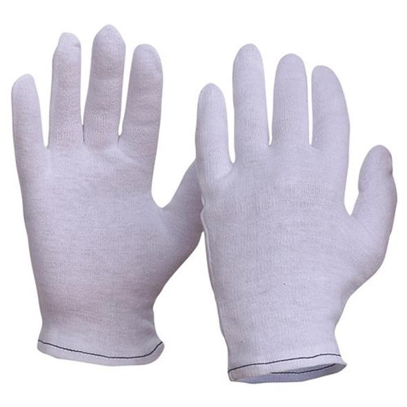 ProChoice® Interlock Poly/Cotton Liner Hemmed Cuff Gloves 342C pk 12