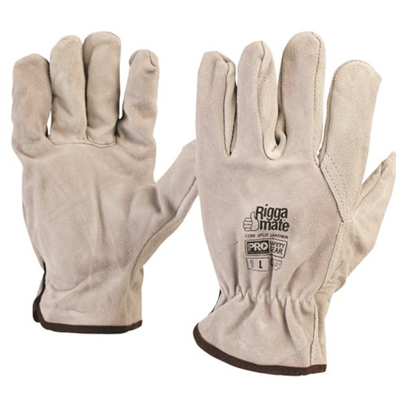 ProChoice® Cowsplit Leather Riggers Gloves 803C pk12