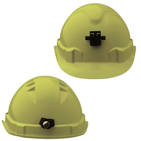 Pro Choice Safety Gear V6 Hard Hat Vented + Lamp Bracket Pushlock Harness HHV6LB 5pk