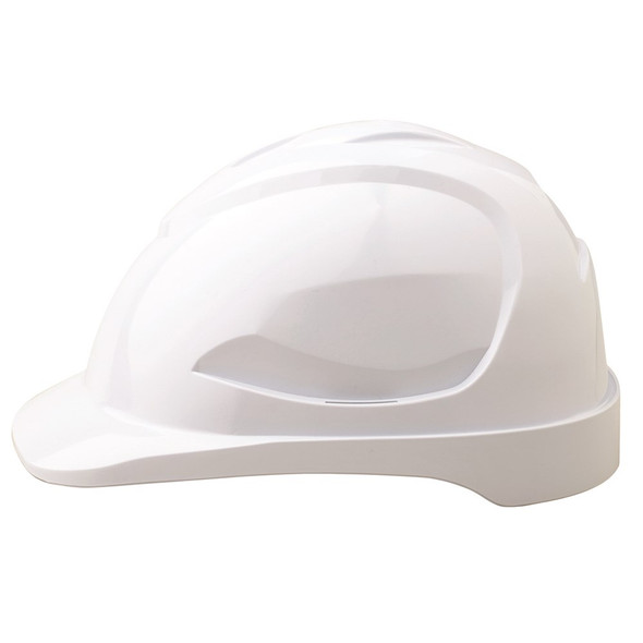 Pro Choice Safety Gear V9 Hard Hat Unvented WHITE HH9