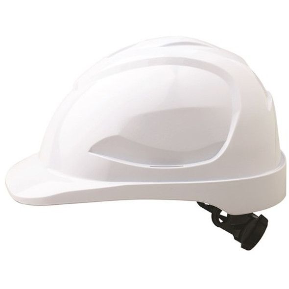 Pro Choice Safety Gear V9 Hard Hat Unvented Ratchet Harness white HH9R