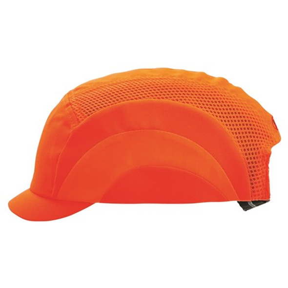 Pro Choice Safety Gear Bump Cap - Micro Peak Fluro Orange BCFOMP