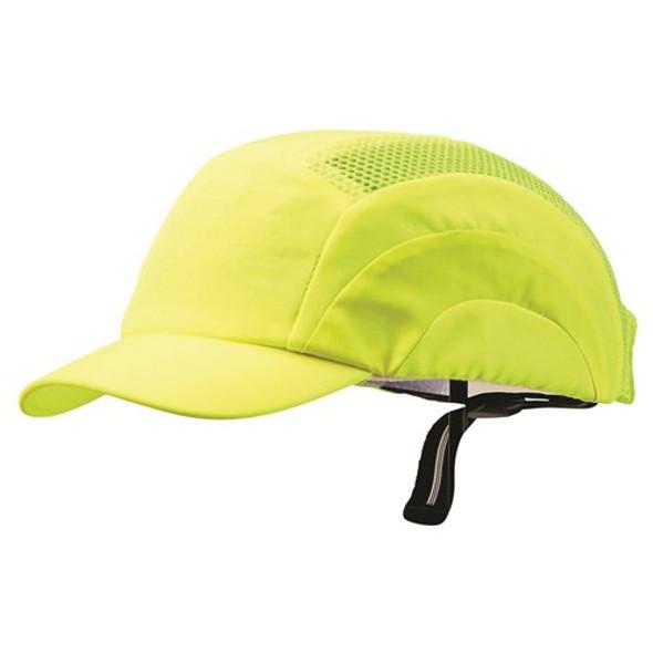 Pro Choice Safety Gear Bump Cap - Short Peak Fluro Yellow BCFYSP