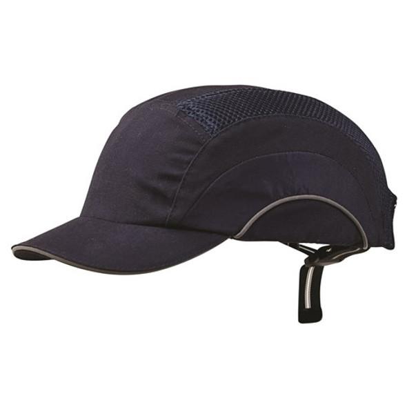 Pro Choice Safety Gear Bump Cap - Short Peak Navy BCNSP