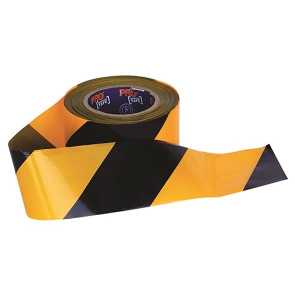 ProChoice® Barricade Tape - 100mm x 75m Yellow / Black YB10075