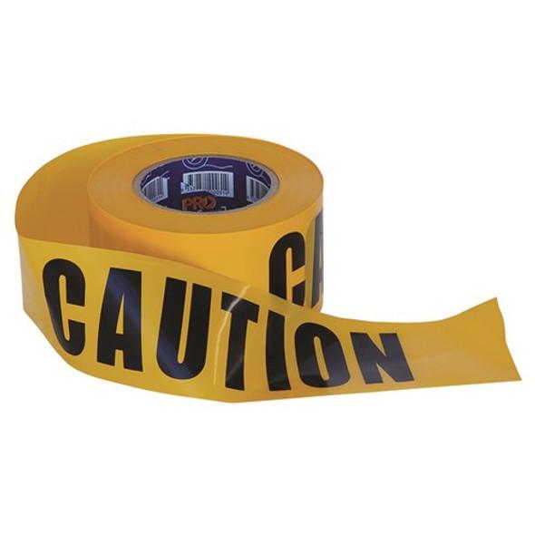 ProChoice® Barricade Tape - 100m x 75mm CAUTION Print CT10075