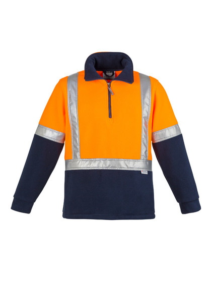 HI VIS Polar FLEECE JUMPER - SHOULDER TAPED ZT462