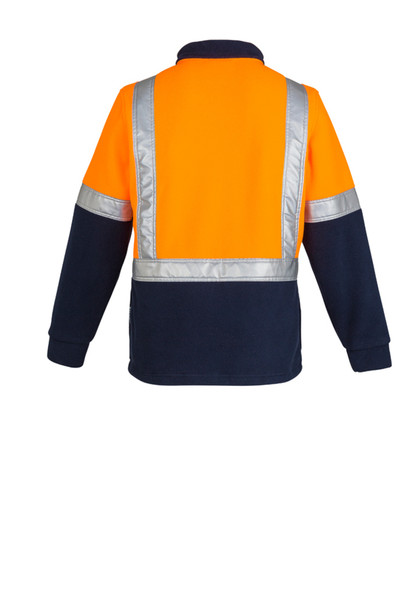 HI VIS Polar FLEECE JUMPER - SHOULDER TAPED