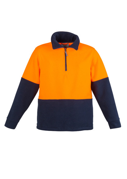 Hi Vis Half Zip Polar Fleece Jumper ZT460