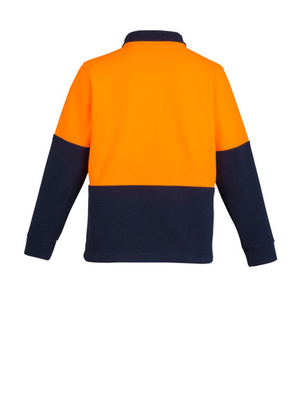 Hi Vis Half Zip Polar Fleece Jumper