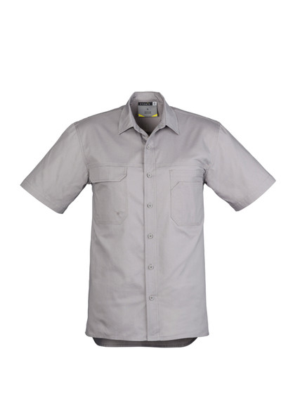 Mens Light Weight Tradie S/S Shirt ZW120