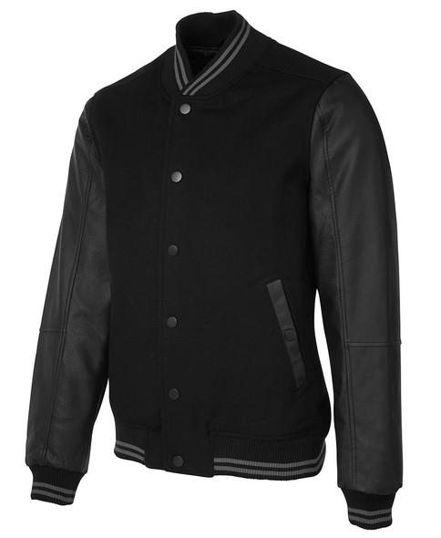 Art Leather Baseball Jacket 3BLJ