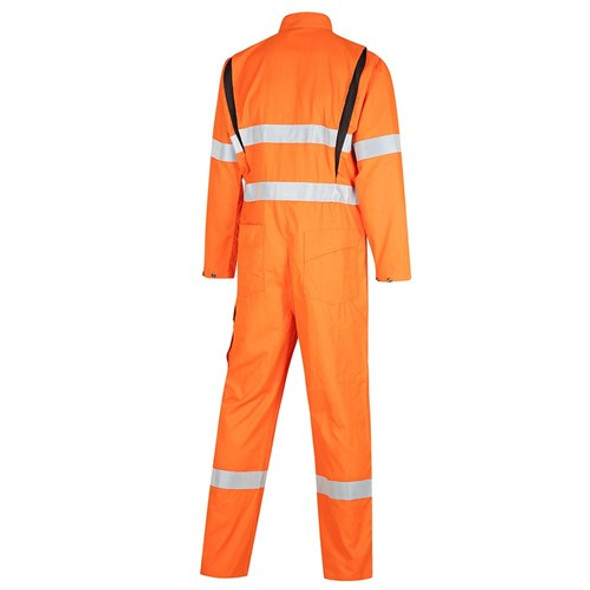 FLARX PPE1 FR Inherent 190gsm Vented Taped Coverall 4701