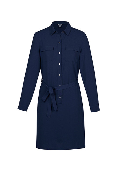 Womens Chloe Georgette Shirt Dress RD069L