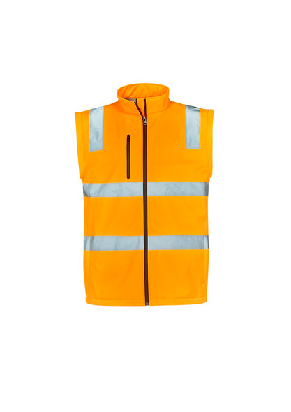 Unisex Hi Vis Vic Rail 2 in 1 Softshell Jacket ZJ780