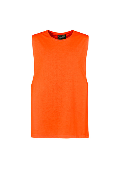 Mens His Vis Sleeveless Tee ZH297