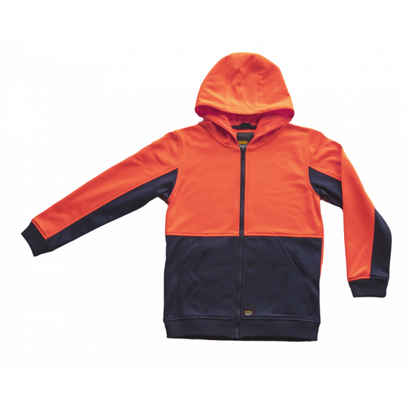 """ASCENT"" Hi Vis Two Tone Kids Hoodie WK8015"