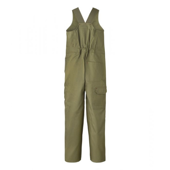 Kids Midweight Roughall Cotton Drill With Elastic Straps WCK501
