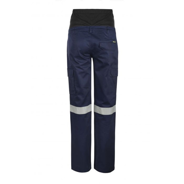 Maternity Cargo Cotton Drill Trouser With Csr Reflective Tape WPL080