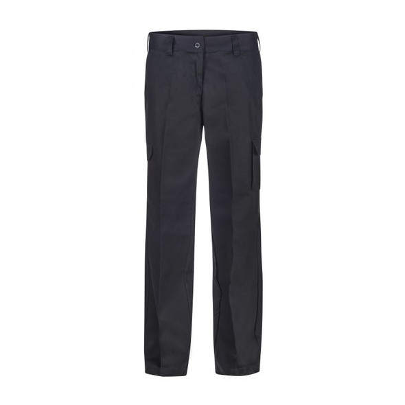 Ladies Mid Weight Cargo Cotton Drill Trouser WPL070