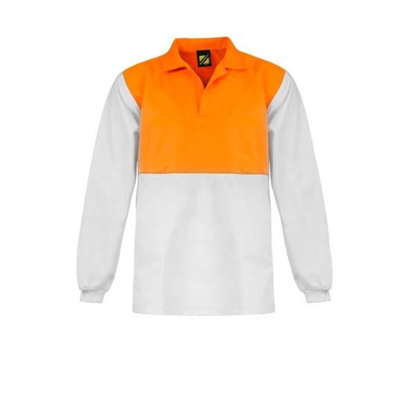 Food Industry Hi Vis Two Tone Jac Shirt - Long Sleeve WS3002