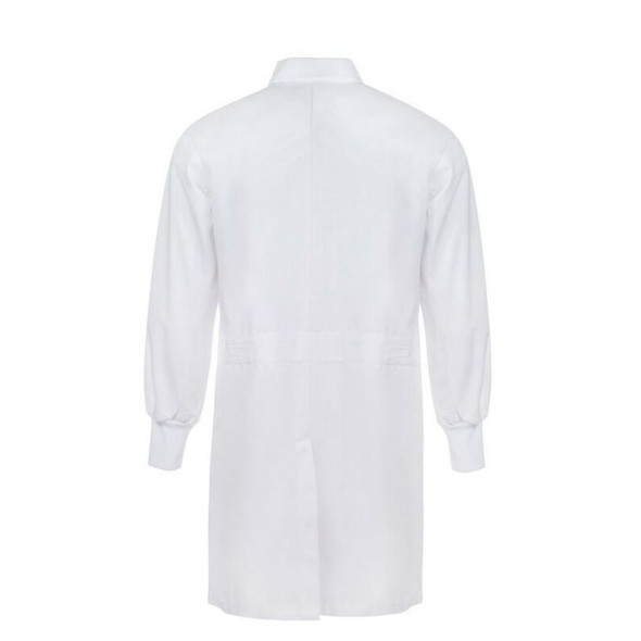 Food Industry Dustcoat With Internal Chest Pocket And Side Pockets - long Sleeve WJ3011