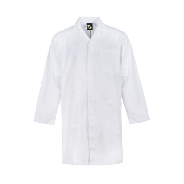 Dustcoat With Patch Pockets - Long Sleeve-WJ057