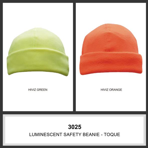 Luminescent Safety Beanie - Toque HW 3025