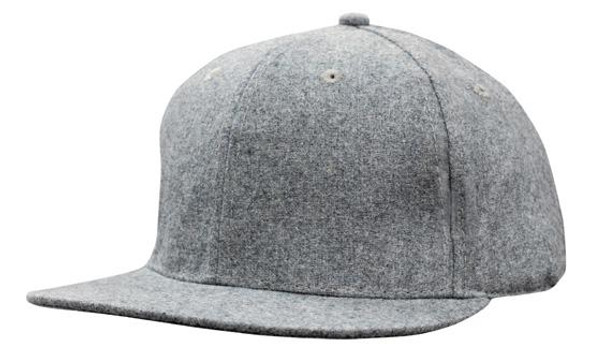 Grey Marle Flannel with Snap Back Pro Styling HW 4135