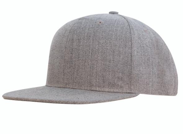 Premium American Twill Flat Peak Cap HW 4158