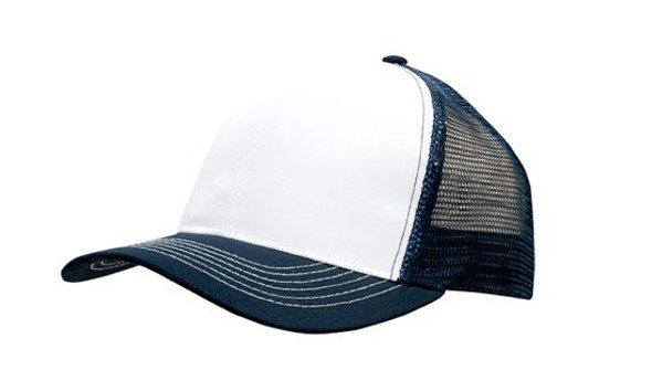 Breathable Poly Twill With Mesh Back HW 3819