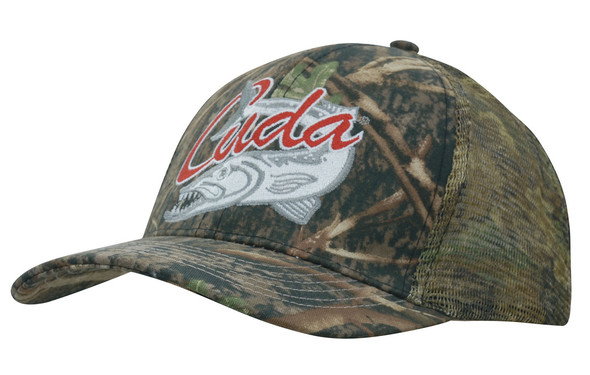 True Timber Camouflage with Camo Mesh Back HW 4059