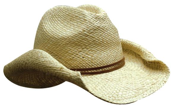 Ladies Cowboy Straw HW 4283