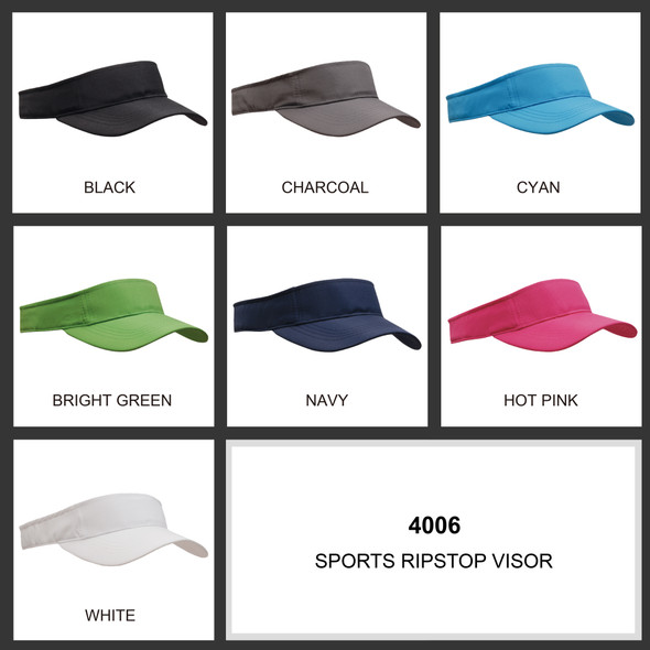 Sports Ripstop Visor HW 4006