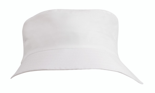Breathable Poly Twill Childs Bucket Hat HW 3939