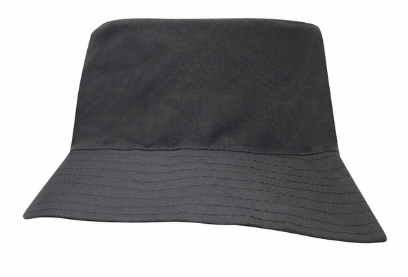 Breathable Poly Twill Childs Bucket Hat HW 3940