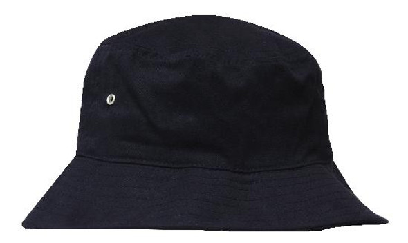 Childs Brushed Sports Twill Bucket Hat HW 4166