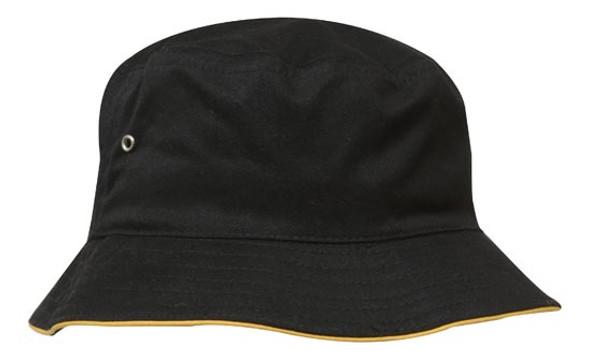 Brushed Sports Twill Bucket Hat HW 4223